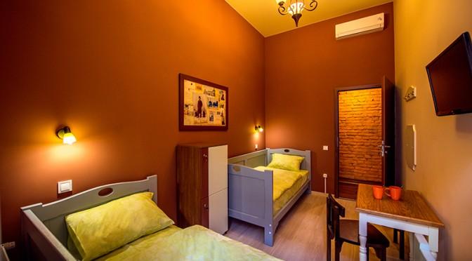 Номер на двоих с отдельными кроватями в Post House Хостел Львов