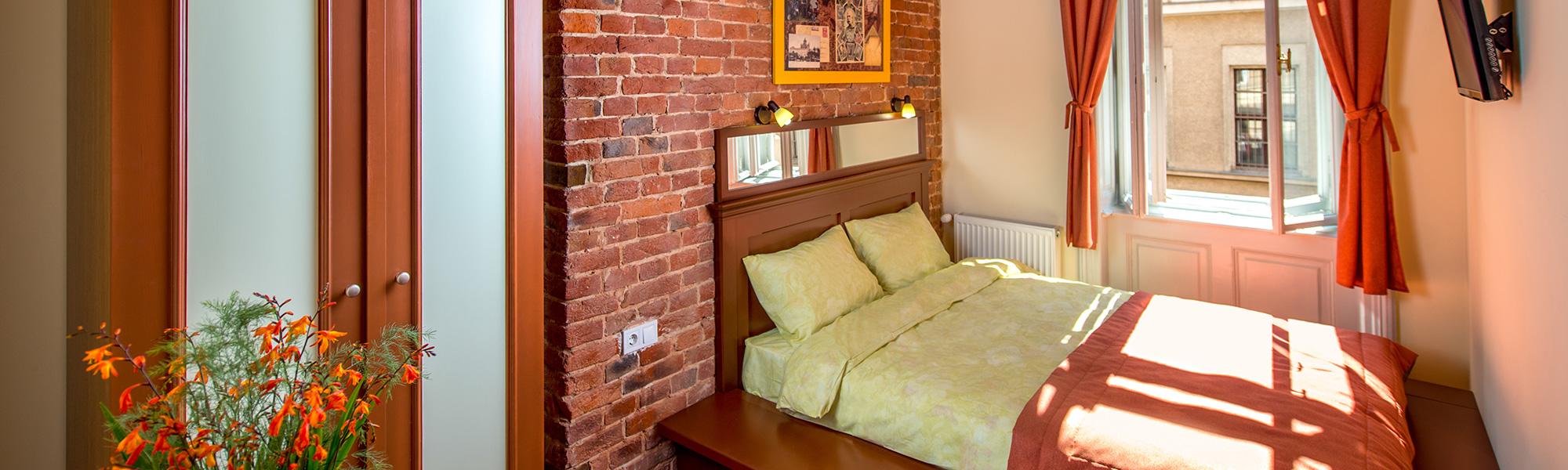 Номер на двоих с большой кроватью в Post House Rooms Львов