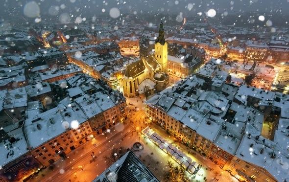 Новый Год и Рождество 2020 во Львове