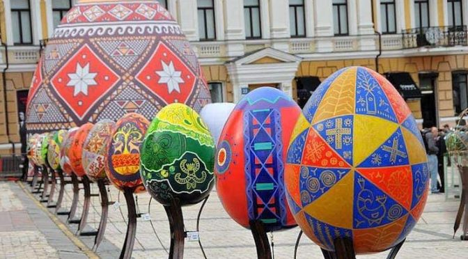 Фестиваль Пасхальных яиц во Львове 26 марта — 26 апреля