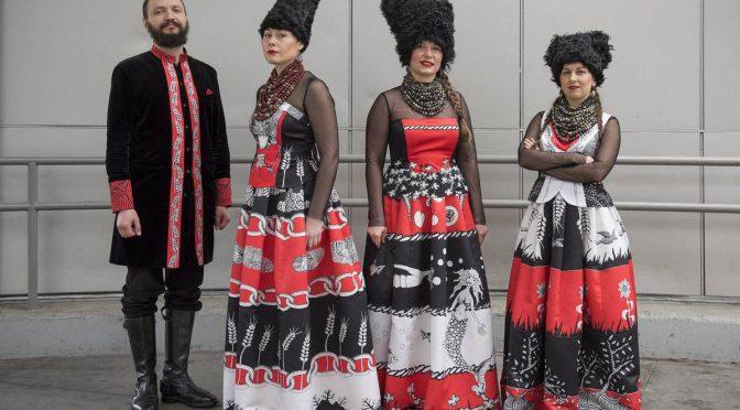 Ukrainian folklore in a modern way